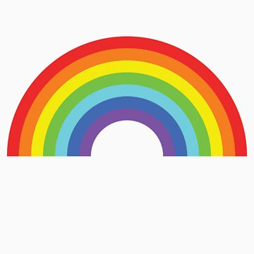 Rainbow by icaretees