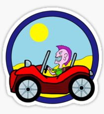 Dune Buggy Sticker