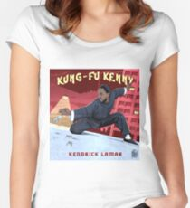 Kung Fu Kenny Tailliertes Rundhals-Shirt