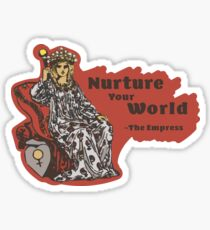 The Empress V2 - Classic Tarot Collection Sticker