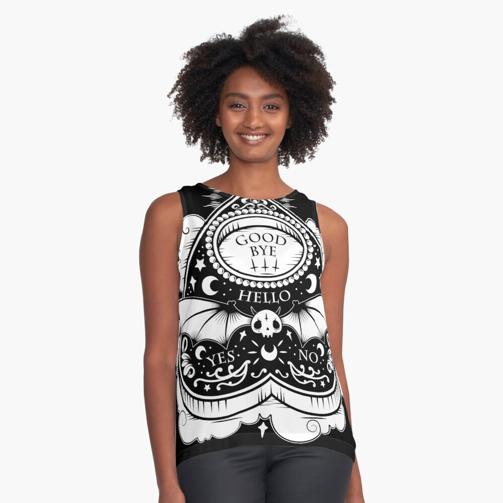 OUIJA Horror Sleeveless Top