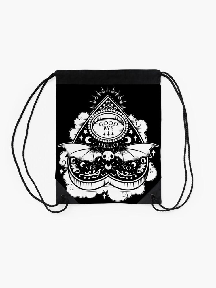 Alternate view of OUIJA Horror Drawstring Bag