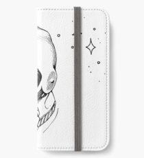 Laika, Weltraumreisende iPhone Flip-Case/Hülle/Klebefolie