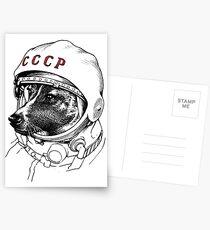 Laika, space traveler Postcards