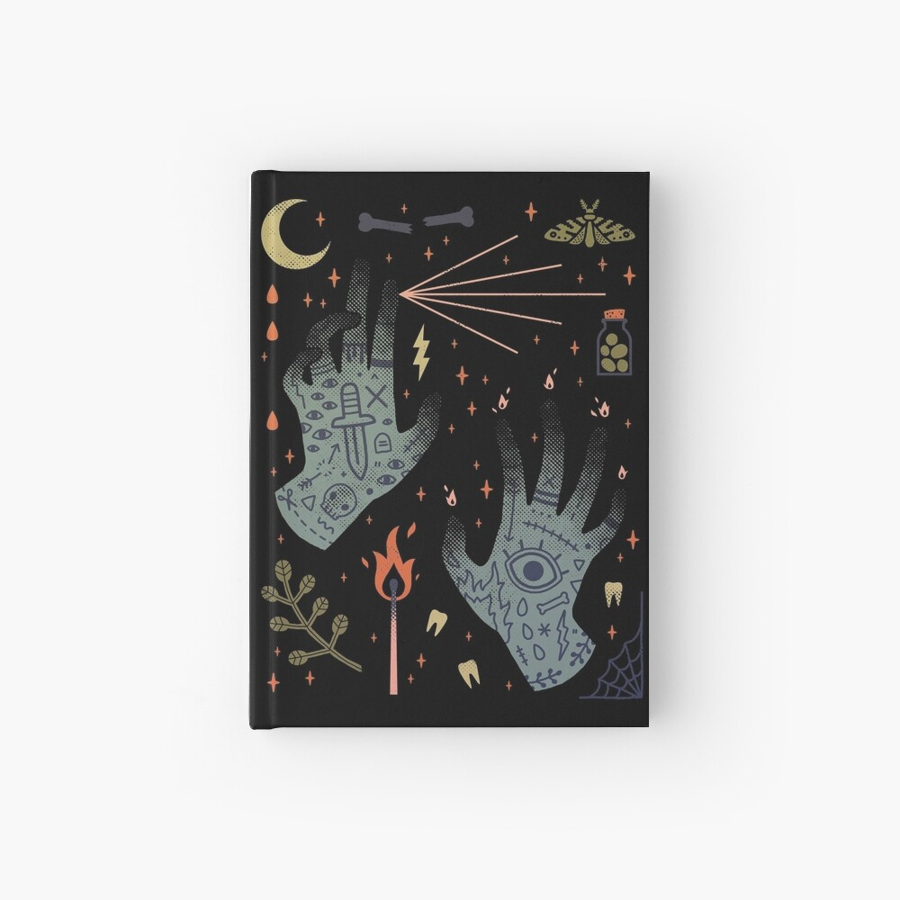 A Curse Upon You! Hardcover Journal