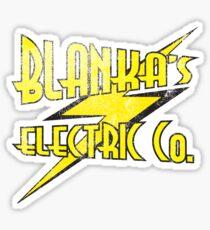 Blanka's Electric Co. Sticker