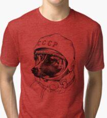 Laika, space traveler Tri-blend T-Shirt