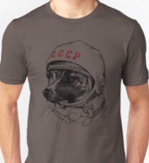 Laika, space traveler Slim Fit T-Shirt