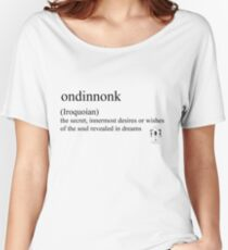 Ondinnonk- (Iroquoian) Women's Relaxed Fit T-Shirt