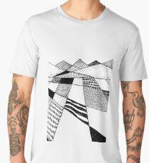 Graphic Mountains Men's Premium T-Shirt