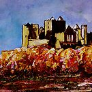 Rock Of Cashel Autumn Tints by Tipptoggy