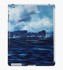 Tory Island, Wild Irish Sea. Landscape Painting iPad Case/Skin