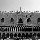 Doge's Palace B&W by Tom Gomez