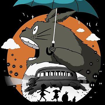 Totoro - My Neighbor Totoro by SenorFiredude