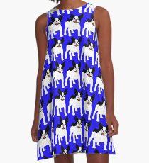 Boston Terrier Frenzy! A-Line Dress