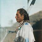 Crow's Heart - Mandan - American Indian by DanKeller