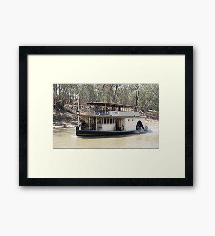The Canberra Framed Print