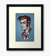 Tenth Lord of Time Framed Print