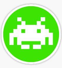 Retro Arcade - Invader Sticker