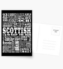 Scottish Slang Stationery | Redbubble
