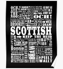 Scottish Slang Posters | Redbubble