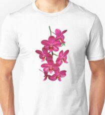 Cascade of Magenta Orchids Unisex T-Shirt