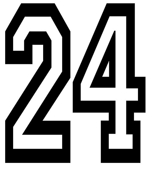 """""""24, TEAM, SPORTS, NUMBER 24, TWENTY, FOUR, Competition ..."""
