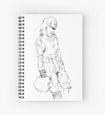 Simplefader- Character21 Spiral Notebook