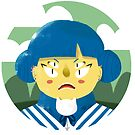 Angry Girl by Vajtan