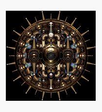 Tesla Mandala Photographic Print