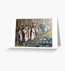 The Way of St James Greeting Card