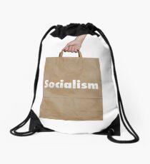 Socialism Drawstring Bag