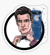 Eleventh Lord of Time Sticker