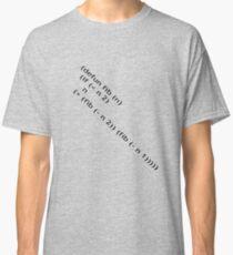 Fibonacci (Black) Classic T-Shirt