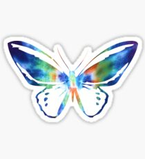 Colorful Paint Butterfly T-Shirt Sticker