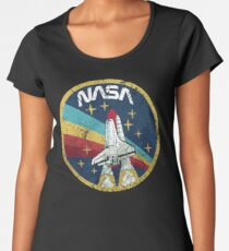 Nasa Vintage Colors V01 Women's Premium T-Shirt