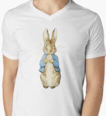 Peter Bunny Men's V-Neck T-Shirt