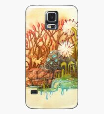 Teto and Baby Ohmu Watercolor Homage to Nausicaa Studio Ghibli Case/Skin for Samsung Galaxy