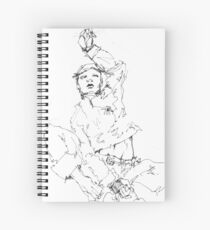 Simplefader-Character18 Spiral Notebook