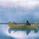 Kutenai duck hunter - American Indian by DanKeller