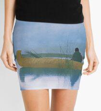 Kutenai duck hunter - American Indian Mini Skirt