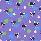 Strolling Ostriches by culturedarm