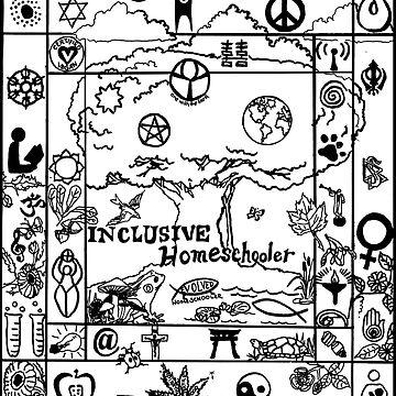 Inclusive Homeschooler by Hazelberry