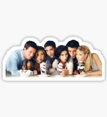 Friends TV Cast  Sticker
