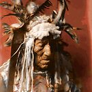 Lean Wolf - Hidatsa - American Indian by DanKeller