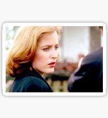 The X Files Scully Still Work Sticker