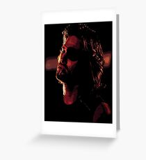 Snake Plissken Greeting Card