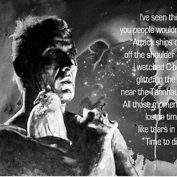 LIKE TEARS IN RAIN... - quote by ARTito