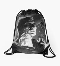 LIKE TEARS IN RAIN... - quote Drawstring Bag