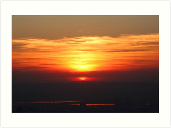 Sunset by SinaStraub